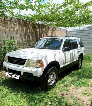 Ford Explorer Sport Auto. 4x4 usado (2002) color Blanco precio BoF4.600
