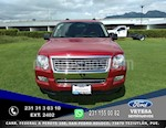 Foto venta Auto usado Ford Explorer XLT 4x2 4.0L  (2010) color Rojo precio $159,000