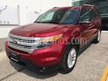 Foto venta Auto usado Ford Explorer XLT 4x2 4.0L  (2014) color Rojo Fuego precio $295,000