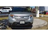 Foto venta Auto usado Ford Explorer XLT V6 (2013) color Plata Estelar precio $249,000
