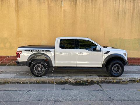 Ford F-150 Raptor 3.5L Cabina Doble 4x4 Aut usado (2020) color Blanco precio u$s57.000