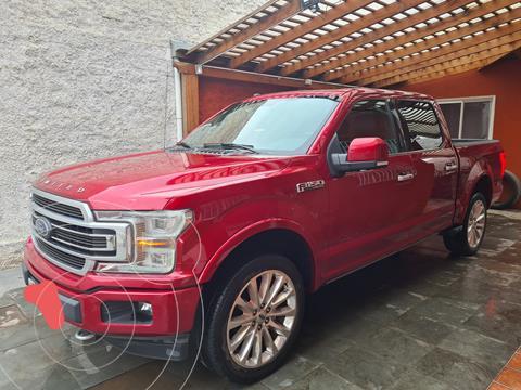 Ford F-150 3.5L Limited 4x4  usado (2019) color Rojo precio $41.000.000