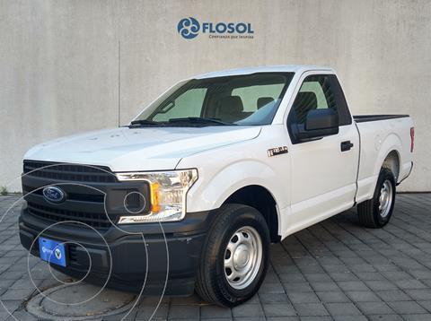 Ford F-150 Cabina Regular 4x2 V6 usado (2018) color Blanco precio $419,900
