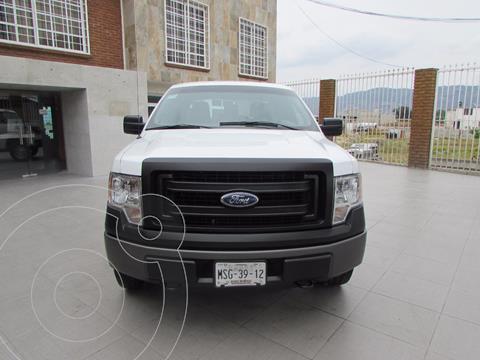 Ford F-150 XL 4x4 5.0L Doble Cabina usado (2014) color Blanco precio $290,000
