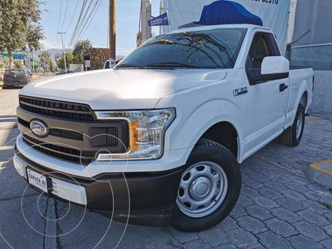 Ford F-150 Cabina Regular 4x2 V6 usado (2019) color Blanco Oxford precio $474,000
