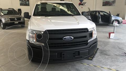 Ford F-150 Cabina Regular 4x2 V6 usado (2018) color Blanco Oxford financiado en mensualidades(enganche $100,623 mensualidades desde $9,609)