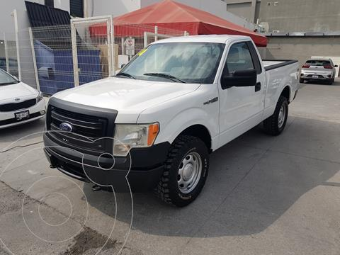 Ford F-150 XL 4x4 3.7L Cabina Regular usado (2014) color Blanco precio $240,000