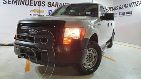 Ford F-150 XL 4x4 5.0L Doble Cabina usado (2014) color Blanco financiado en mensualidades(enganche $93,000 mensualidades desde $7,770)