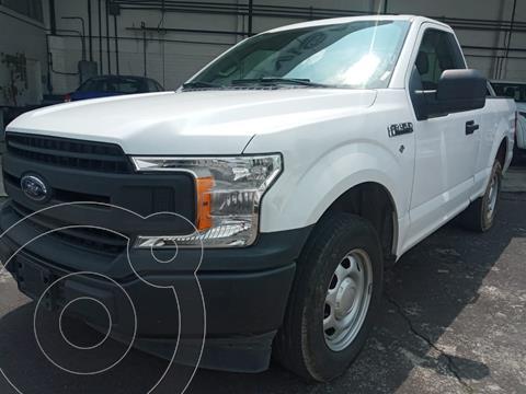 Ford F-150 Cabina Regular 4x2 V6 usado (2018) color Blanco precio $414,000