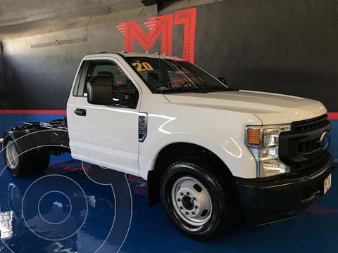 Ford F-350 XL  usado (2020) color Blanco financiado en mensualidades(enganche $362,000 mensualidades desde $23,500)