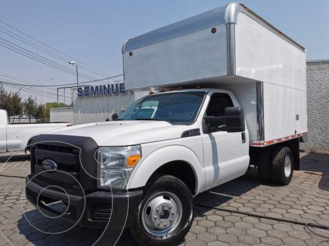 Ford F-350 XL 6.2L usado (2016) color Blanco Oxford precio $500,000