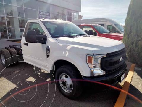 Ford F-350 XL 6.2L Aut Ac usado (2020) color Blanco precio $695,000