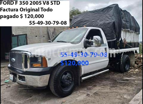 Ford F-350 KTP XLT 6.2L Aut Ac usado (2005) color Blanco precio $120,000