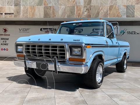 Ford F100 V8 Aut usado (1979) color Azul precio $700,000