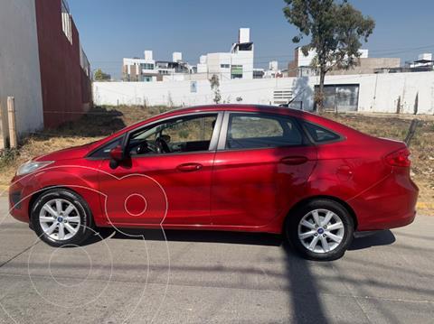 Ford Fiesta Hatchback SE Aut usado (2011) color Rojo Granate precio $110,000