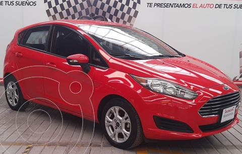 Ford Fiesta Hatchback SE  Aut usado (2014) color Rojo Racing financiado en mensualidades(enganche $72,500 mensualidades desde $3,732)