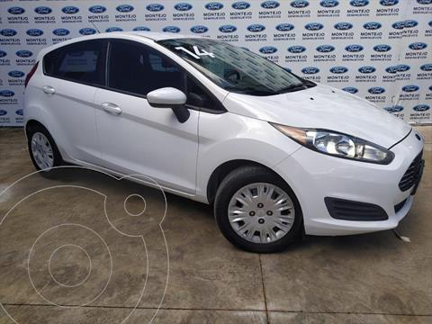 Ford Fiesta Hatchback S usado (2014) color Blanco precio $125,000