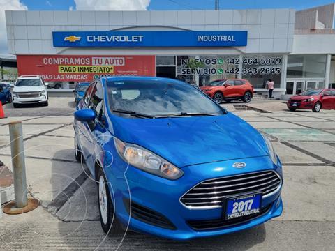 Ford Fiesta Hatchback SE usado (2017) color Azul precio $189,000