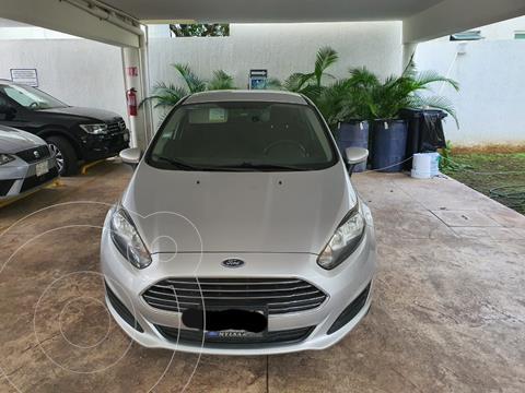 Ford Fiesta Hatchback S usado (2014) color Plata precio $100,000