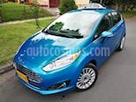 Foto venta Carro Usado Ford Fiesta Hatchback Titanium Aut (2015) color Azul Aniversario precio $38.500.000
