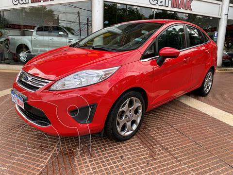 Ford Fiesta Kinetic Sedan Trend usado (2011) color Rojo precio $990.000