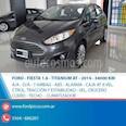 Foto venta Auto usado Ford Fiesta Kinetic Sedan Titanium Aut (2014) color Gris Oscuro precio $480.000