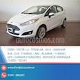 Foto venta Auto usado Ford Fiesta Kinetic Sedan Titanium Aut (2015) color Blanco