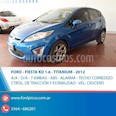 Foto venta Auto usado Ford Fiesta Kinetic Sedan Titanium Aut (2012) color Azul Celeste