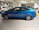 Foto venta Auto usado Ford Fiesta Kinetic Sedan Titanium (2015) color Azul Mediterraneo precio $405.000