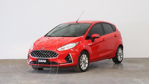 Ford Fiesta Kinetic SE usado (2018) color Rojo Rubi precio $1.600.000