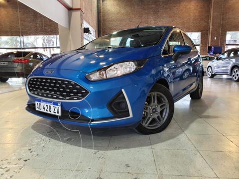 Ford Fiesta Kinetic S Plus usado (2019) color Azul Mediterraneo financiado en cuotas(anticipo $1.140.000)