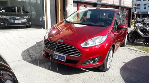 Ford Fiesta Kinetic SE  usado (2015) color Rojo Rubi financiado en cuotas(anticipo $850.000)