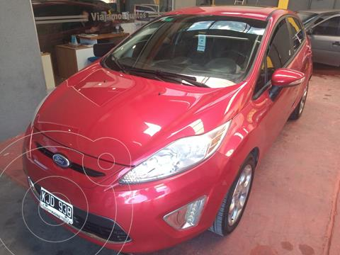 Ford Fiesta Kinetic Titanium usado (2011) color Rojo precio $1.040.000