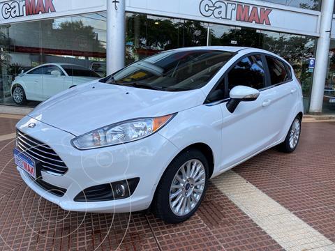 Ford Fiesta Kinetic Titanium Aut usado (2017) color Blanco precio $1.490.000
