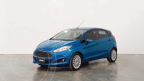 Ford Fiesta Kinetic SE  usado (2015) color Azul Mediterraneo precio $1.340.000