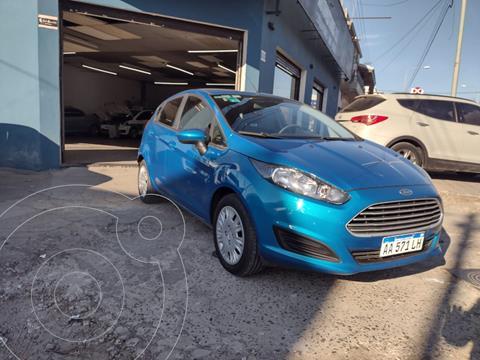 Ford Fiesta Kinetic S usado (2016) color Azul Mediterraneo precio $1.350.000
