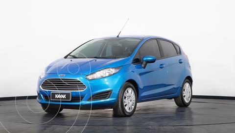 Ford Fiesta Kinetic S usado (2017) color Azul Mediterraneo precio $1.530.000