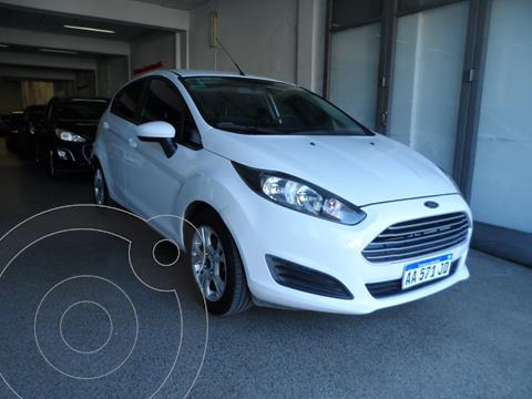 Ford Fiesta Kinetic S Plus usado (2016) color Blanco Oxford financiado en cuotas(anticipo $595.000)
