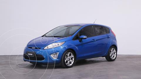 Ford Fiesta Kinetic Titanium usado (2012) color Azul Onyx precio $1.030.000