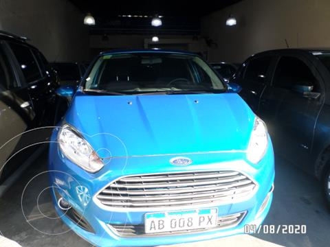 Ford Fiesta Kinetic SE  usado (2017) color Azul Celeste precio $1.190.000