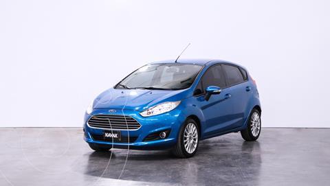 Ford Fiesta Kinetic SE  usado (2014) color Azul Mediterraneo precio $1.270.000