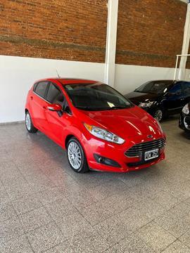 Ford Fiesta Kinetic Titanium Powershift usado (2016) color Rojo Rubi precio $1.390.000