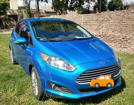 Ford Fiesta Kinetic SE Plus  usado (2014) color Azul Mediterraneo precio $1.100.000