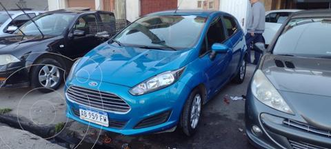 Ford Fiesta Kinetic SE Plus  usado (2017) color Azul Mediterraneo precio $960.000