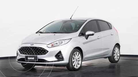 Ford Fiesta Kinetic Titanium usado (2018) color Plata precio $1.720.000