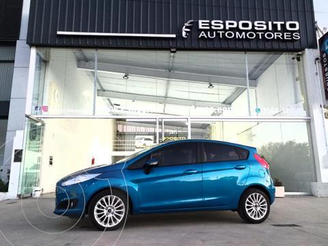 Ford Fiesta Kinetic SE  usado (2014) color Azul precio $1.150.000