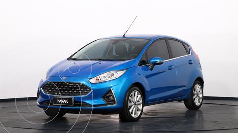 Ford Fiesta Kinetic Titanium Aut usado (2019) color Azul precio $2.060.000