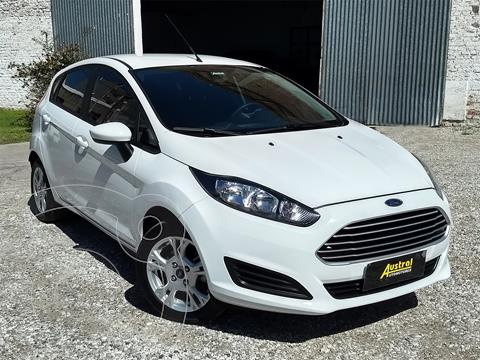 Ford Fiesta Kinetic S Plus usado (2017) color Blanco Oxford precio $880.000