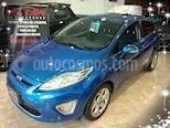 Foto venta Auto usado Ford Fiesta Kinetic Titanium (2011) color Azul Celeste precio $370.000