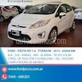 Foto venta Auto usado Ford Fiesta Kinetic Titanium (2013) color Blanco
